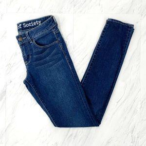 Articles of Society- Mya Light Blue Skinny Jeans